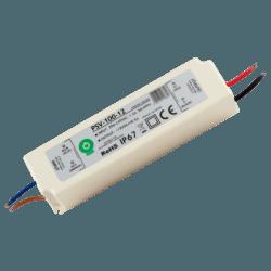 Hermetyczne zasilacze PSV w obudowie plastikowej