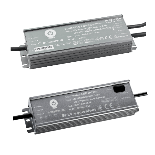 Hermetic MCHQ power supplies