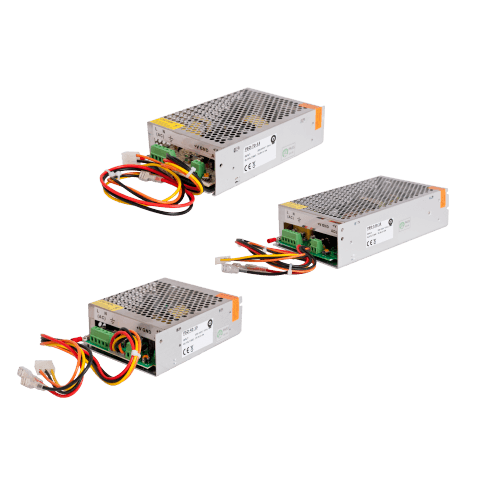 Buffer power supplies in the modular casing IP20