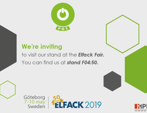 We will be at the Elfack fair in Sweden!
